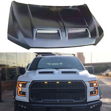 Retrofit Car Bonnet Hood with Outlet FRP-Material No Paint for Ford F150 2015-16
