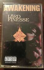 Lord Finesse- The Awakening Cassette Hip Hop NYC Rap Tape Rare OOP 1996 OG