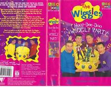 THE WIGGLES ITS A WIGGLY PARTY VHS VIDEO PAL~ A RARE FIND