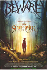 SPIDERWICK CHRONICLES MOVIE POSTER DS 27x40 Based On Tony DiTerlizzi Book 2008