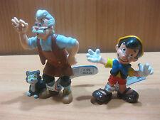 Bullyland Disney,PINOCCHIO E GEPPETTO,  Personaggi Nuovi da collezione