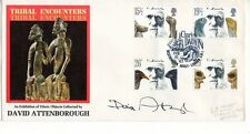 David Attenborough On His OWn Charles Darwin 1982 FDC Signed 2