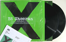 ED SHEERAN LP x 2 X Double heavy Vinyl Album + Full Downloads + PROMO Sheet NEW