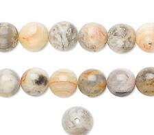 3963 Crazy Lace Agate Round Beads Natural 8mm 16inch  *UK EBAY SHOP*