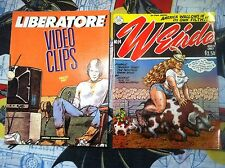 Weirdo #14 + Liberatore Video Clips Vol. 1 ADULTS ONLY Graphic Novels L@@K