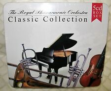 ROYAL PHILHARMONIC ORCHESTRA - CLASSIC COLLECTION on 5 CD'S - COLLECTORS TIN