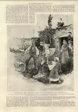 1897 Greeks Hiding Valuables In Garden Larissa Meteora Ladder Basket