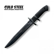 COLD STEEL BLACK BEAR BLADE MARTIAL ARTS RUBBER TRAINING BAYONET MILITARY KNIFE