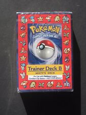 Pokemon - SEALED TRAINER DECK B MISTY'S DECK - BLASTOISE - RARE