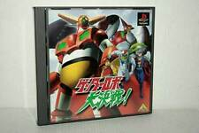 GETTER ROBOT THE BIG BATTLE! GIOCO USATO SONY PSX PSONE ED GIAPPONESE VBC 48772