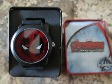 NEW Marvel Men's Avengers DEADPOOL Adult Accutime Watch- NEW IN TIN