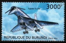 TUPOLEV Tu-144 Russian Supersonic Jet Airliner Aircraft Stamp (2012)