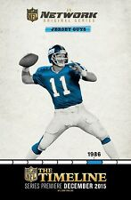 THE TIMELINE MANIFESTO NFL JERSEY GUYS NEW YORK GIANTS