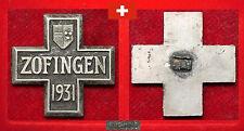 TURNEN ANTIK HISTORISCHES TEILNEHMER ABZEICHEN SCHWEIZ TURNFEST ZOFINGEN 1931