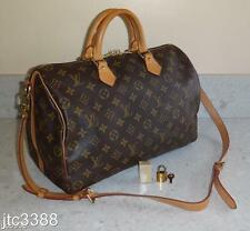 2011 Louis Vuitton Bandouliere Speedy 35 STRAP Bag $1410+TAX