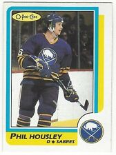 1986-87 OPC HOCKEY #154 PHIL HOUSLEY - EX-/EX
