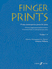 Fingerprints Piano Grades 1-4 Piano Solo Learn to Play SONGS FABER Music BOOK