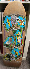 Skateboard vintage used Powell Peralta Ray Barbee tarot cards mini OG !