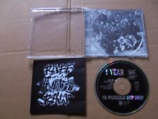1 YEAR IN RUGGED HIP HOP,VARIOUS RUFF 'N' RAW cd m(-)/m(-) dragnet rec. Austria