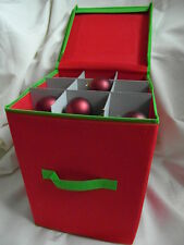 CHRISTMAS TREE ORNAMENT / BAUBLE STORAGE BOX NEW AND SEALED