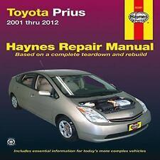 Toyota Prius 2001-2012 Repair Manual (Haynes Repair Manual), Haynes, Good Condit