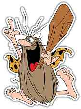 "Captain Caveman Kids Cartoon Car Bumper Window Locker Sticker Decal 4""X5"""
