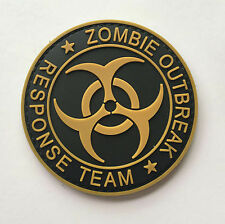 Hot  Resident Evil - BIOHAZARD LOGO PVC 3D Rubber   Patch  SJK  460