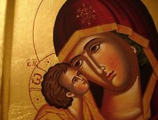 Maria Donskaya russisch Muttergottes Jesus Ikone Icon Ikona Holy Mary Icône