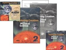 Apologia Physical Science SET With  Audio CD (MP3) AND Companion CD Rom      NEW