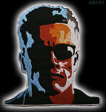 TERMINATOR T-800 Large Embroidered IRON-ON / Sew-On Jacket Patch - NEW - #8BP01