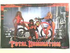 Poster TOTAL DOMINATION Roger DeCoster Marty Smith CR125 CR85 CR250 CR500 96.07