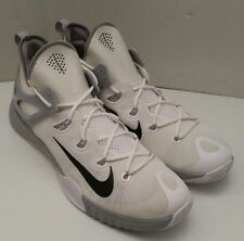 Nike Zoom Hyperev Athletic Basketball Shoes Mens Size 17 US White 742247-101 New