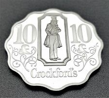 Casino Token .925 Sterling Silver Crockford's 10 Pounds London FREE SHIPPING