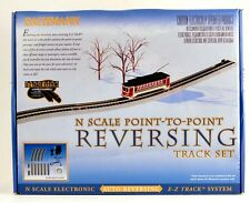 Bachmann N Scale Train E-Z Track System Auto Reversing Complete System 44847