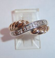 LADIES 14K WEDDING COCKTAIL ANY FINGER 5 DIAMOND RING