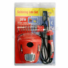 30W SOLDERING IRON KIT SET WIRE DESOLDER PUMP STAND SPONGE 240V WATT 1.3M CABLE