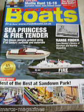 MODEL BOATS MARCH 2015 SEA PRINCESS FIRE TENDER MOLLY HUNT 16 16 LIFEBOAT NAVIA