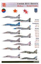 Linden Hill Decals 1/72 MIKOYAN MiG-29 FULCRUM The Late 9-12 Series