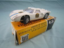 AB686 JOUEF FORD GT  SLOT CAR CIRCUIT 1/40  Ref 365 BON ETAT