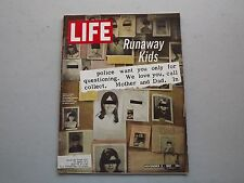 LIFE Magazine November 3 1967 ~ Runaway Kids ~ Majesty of Taj Mahal ~ 60s Ads