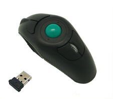 Wireless Mouse Finger Handheld Thumb Controlled Trackball Mice for PC Mac Laptop