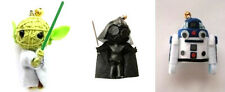 Star Wars Voodoo Doll Keyring set, Darth Vader, R2D2 and Yoda. String Bag Charm.