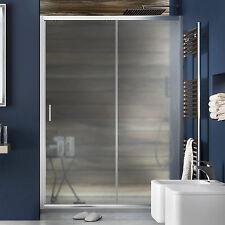 Porta box doccia cabina 120 cm nicchia scorrevole vetro opaco 185 h reversibile