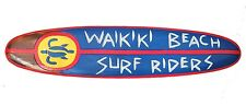 Decoración Tabla de surf Waikiki Playa Surfriders 100cm Tablista f Bares/Lounge