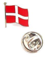 Denmark Flag Enamel Lapel Pin Badge T1076