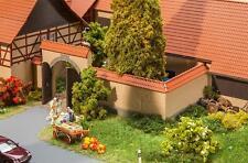Faller H0, 180400, Mur avec Porte, Miniatures Kit de montage 1:87