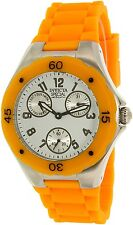 Invicta Women's Angel 18792 Orange Silicone Quartz Watch