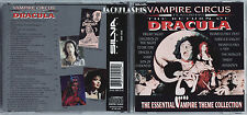 VAMPIRE CIRCUS RARE CD THE ESSENTIAL VAMPIRE THEME COLLECTION FRIGHT NIGHT VAMP