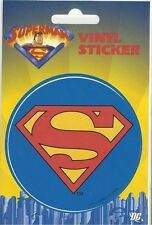 SUPERMAN classic logo 2012 - VINYL STICKER official licensed merchandise