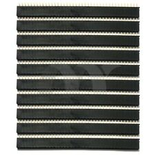 10 Pcs 1x40 Pin 2.54 mm Single Row Female Pin Header